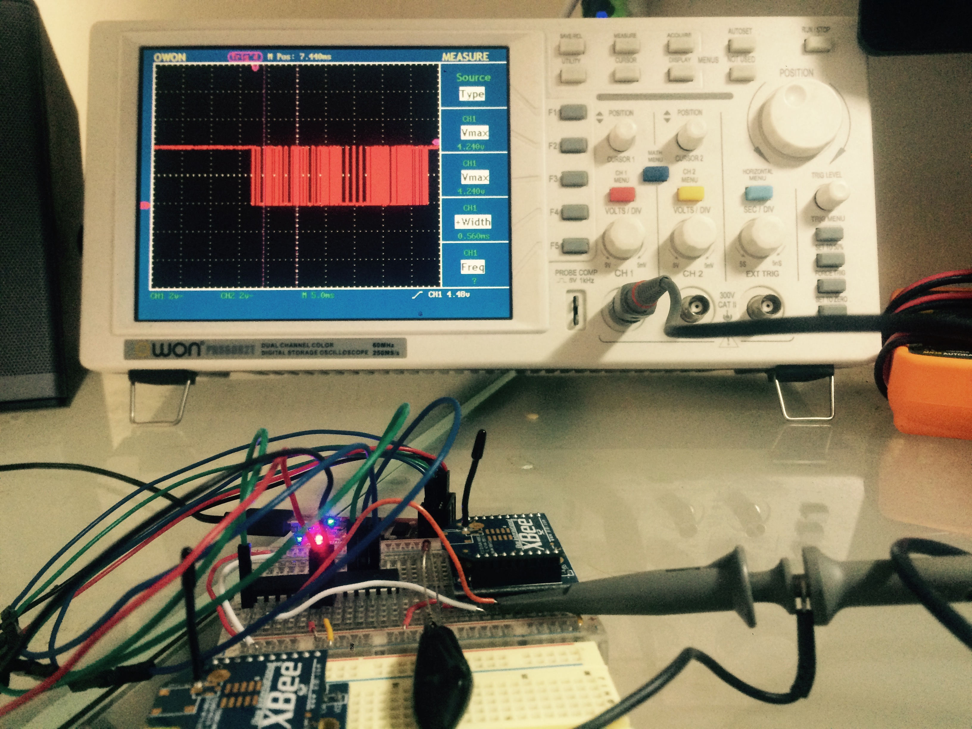Debugging USART on an Atmel ATMega328P Microcontroller